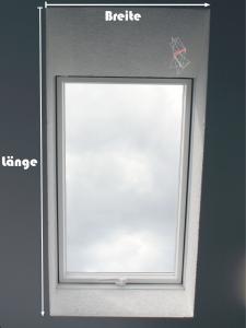 Abmessen Dachfenster