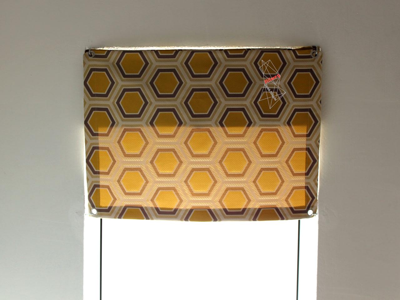 dachfenster vorhang n hen anleitung mit kostenlosem schnitt. Black Bedroom Furniture Sets. Home Design Ideas