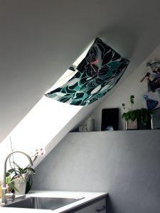 Vorhang- Grün