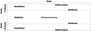 Bierbank Kissen_Schemazeichnung