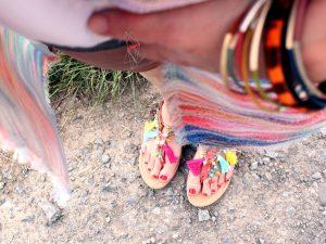 Quasten-Perlen-Schuhe-Stilweg