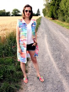Weste-Outfit