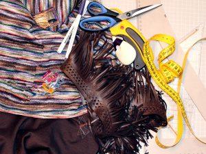 Material-Schal