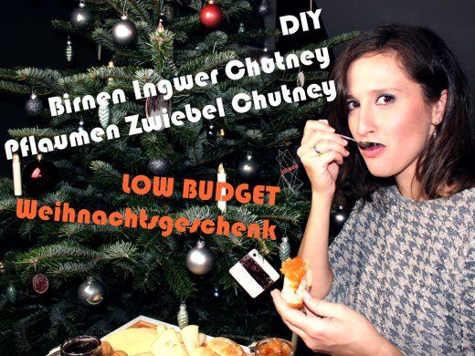 Birnen Ingwer und Pflaumen Zwiebel Chutney Stilweg