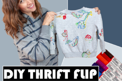 Thumbnail Stilweg 602 Thrift Flip: upcycling Kinderpulli